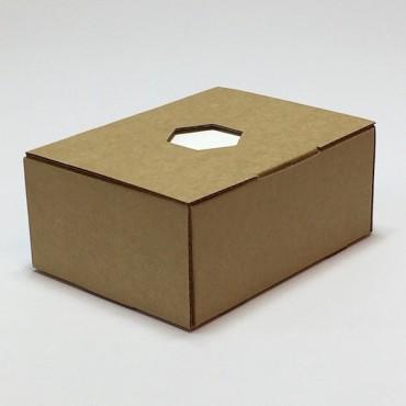 Märkmepaber 8,3 x 11,3 x 5 cm (u. 350 lehte) pruunis karbis