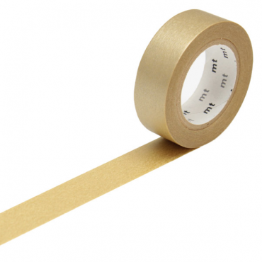 Washi teip 15 mm x 10 m - Gold