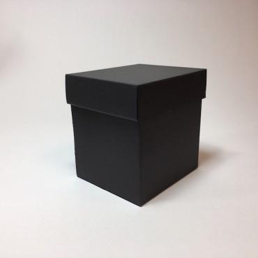 Kinkekarp 14 x 16 x 17 cm - Must lainepapp