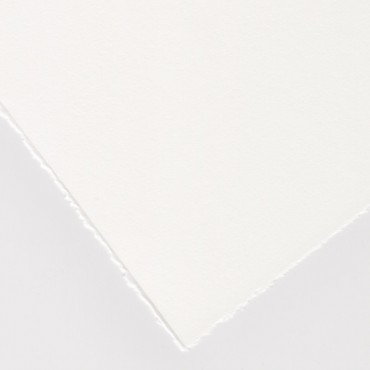 Graafikapaber HAHNEMÜHLE 1584 300 g/m² 56 x 76 cm - Helevalge