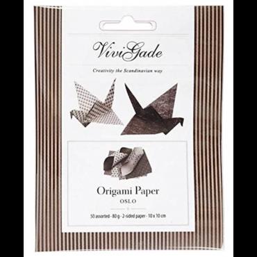 Origami paber OSLO 10 x 10 cm 50 lehte