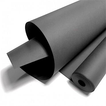 Joonistuspaber rullis 120 g/m² 0,7 x 10 m - Must