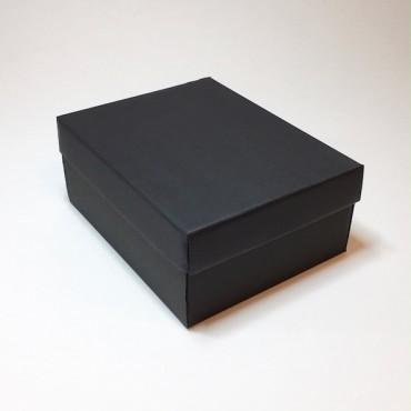 Kinkekarp 19 x 24 x 10 cm - Must lainepapp
