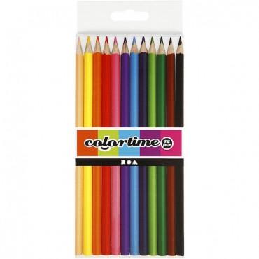 Värvipliiatsid COLORTIME 12 tk.