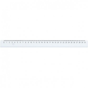 Joonlaud plastikust - 30 cm