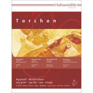 Akvarelliplokk TORCHON 275 g/m² 30 x 40 cm krobeline 20 lehte - Helevalge