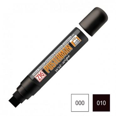 Marker POSTERMAN WET-WIPE lapik 15 mm - ERINEVAD TOONID