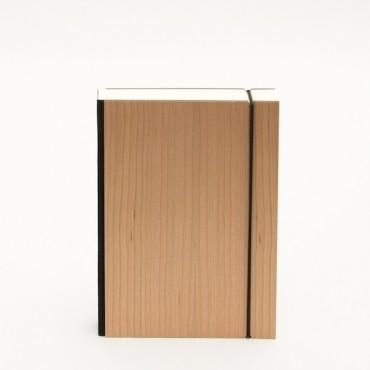 Märkmik PURIST WOOD 12 x 16,5 cm 90 g/m² 144 lehte punktid