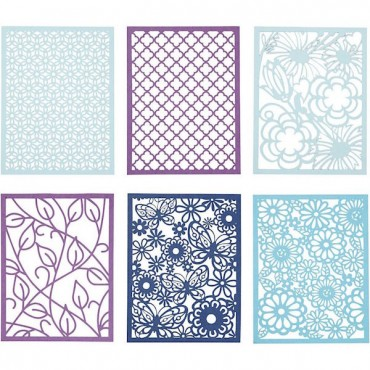 Paberikomplekt LASERPITS 10,4 x 14,6 cm 24 lehte - Lilla-sinine