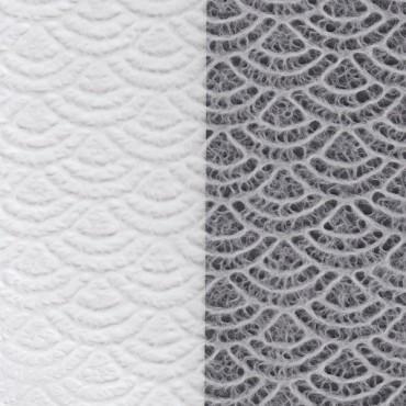 Jaapani paber SEIKAIHA TISSUE 17 g/m² 21 x 29,7 cm (A4) 10 lehte - Valge