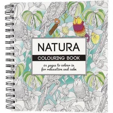 """Värviraamat """"Natura"""", 64 lehekülge"""