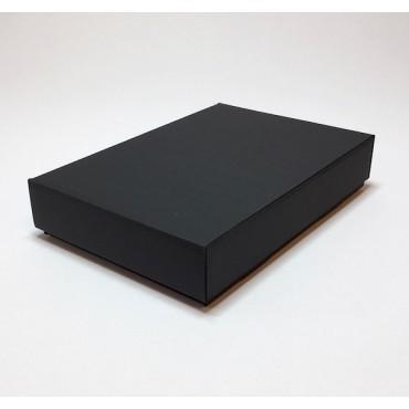 Kinkekarp ZELLULOOS 15,5 x 23 x 4,5 cm - Must lainepapp