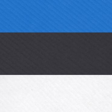 Lainepapp KOMPLEKT 35 x 50 cm 9 lehte - Sinine/must/valge