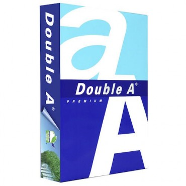 Koopiapaber DOUBLE A 80 g/m² 21 x 29,7 cm (A4) 100 lehte
