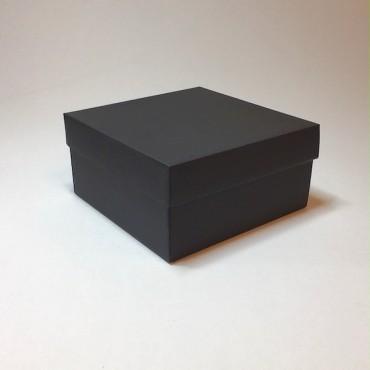 Kinkekarp 20 x 20 x 10 cm - Must lainepapp