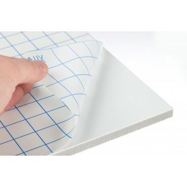 Kapa-Fix 5 mm 1050 g/m² 22,5 x 32 cm - Valge/kleepiv
