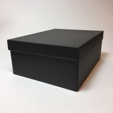 Kinkekarp 28 x 35 x 14 cm - Must lainepapp