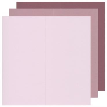 Kaarditoorik KEAYKOLOUR 10,5 x 21 cm (21 x 21 cm) 300 g/m² 10 tükki - ERINEVAD TOONID