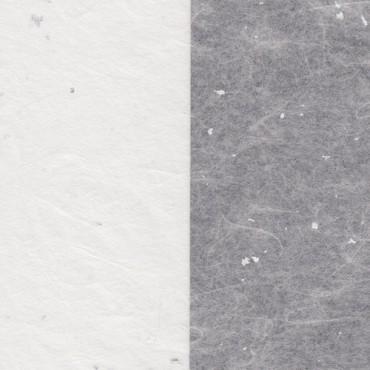 Jaapani paber SILVER FLECK TISSUE 17 g/m² 14,8 x 21 cm (A5) 10 lehte - Valge/hõbedane