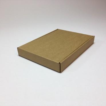 Pakend KLAPPIDEGA PL 14,5 x 21,5 x 2,5 cm - Pruun