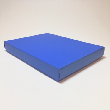 Kinkekarp 30 x 40 x 5 cm - Sinine 285C lainepapp