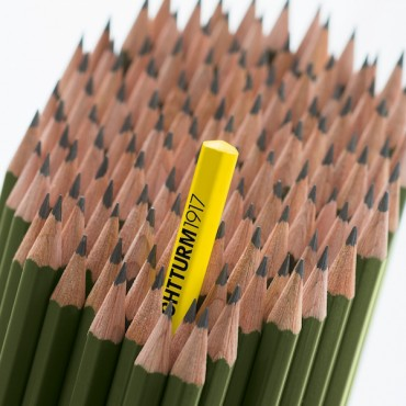 Harilik pliiats LEUCHTTURM HB - ERINEVAD VÄRVID