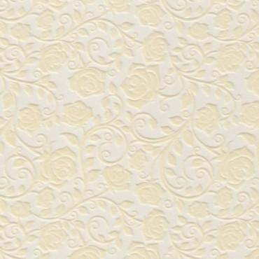 Veluurpaber (samet) MUSTRIGA 21 x 29,7 cm (A4) 5 lehte - Kreemikad roosid