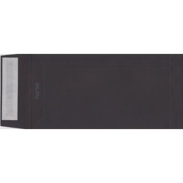 Ümbrik POPSET C65 11 x 22 cm - Must