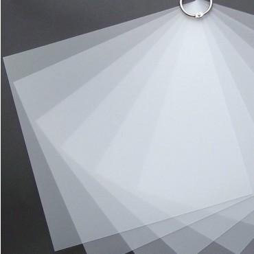 Plastikleht PRIPLAK 0,5 mm 21 x 29,7 cm (A4) 25 tk. - Läbipaistev