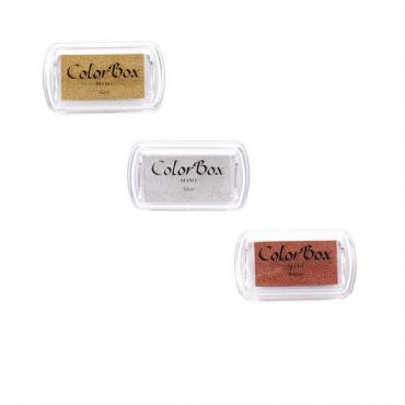 Templipadi ColorBox Mini Metallic 2,5 x 4,5 cm pigmentvärv - ERINEVAD TOONID