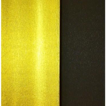 Krepp-paber CLASSIC METALLIC BICOLOR 251% 144 g/m² 50 x 250 cm - Kuldne-tumepruun