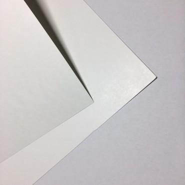 Bristolkartong 0,26 mm 246 g/m² 65 x 50 cm - Valge