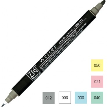 Viltpliiats WRITER Chalk Pastel - ERINEVAD TOONID