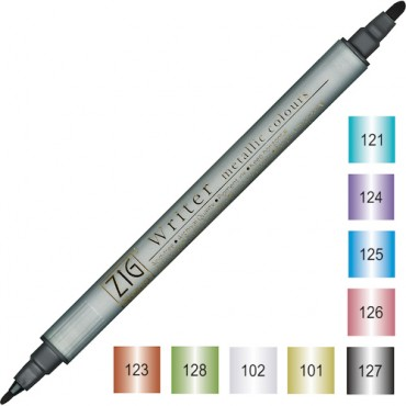 Viltpliiats WRITER Metallic - ERINEVAD TOONID