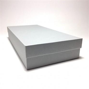 Arhiivikarp 22 x 47 x 8 cm - Hall/valge