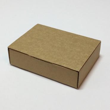 Kinkekarp ZELLULOOS 8 x 11 x 3 cm - Pruun lainepapp
