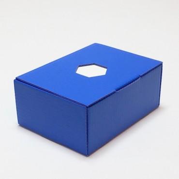 Märkmepaber 8,3 x 11,3 x 5 cm (u. 350 lehte) sinises karbis