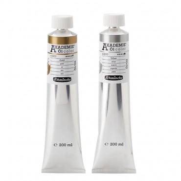 Õlivärv AKADEMIE metallik 200 ml - ERINEVAD TOONID