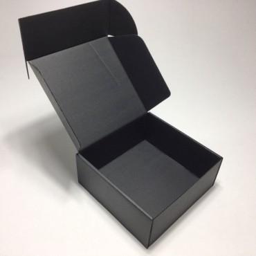 Pakend KLAPPIDEGA PL 16,5 x 16,5 x 7 cm - Must