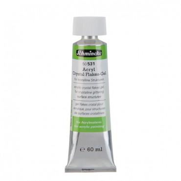 Akrüülimeedium CRYSTAL FLAKES-GEL 60 ml