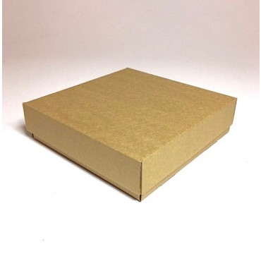Karp ZELLULOOS PL 20 x 20 x 5 cm - Pruun lainepapp