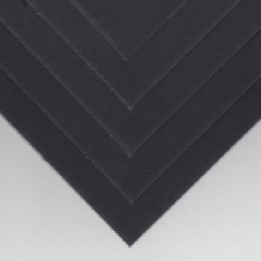 Paspartuupapp DSPC 1,4 mm 35 x 50 cm 5 tk. - Must/must