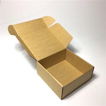Pakend KLAPPIDEGA PL 16,5 x 16,5 x 7 cm 25 tükki - Pruun/pruun