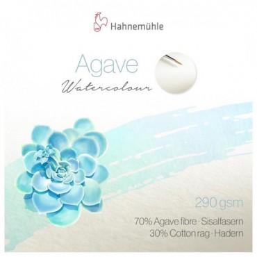 Akvarelliplokk AGAVE 290 g/m² 30 x 40 cm 12 lehte, matt - Loodusvalge