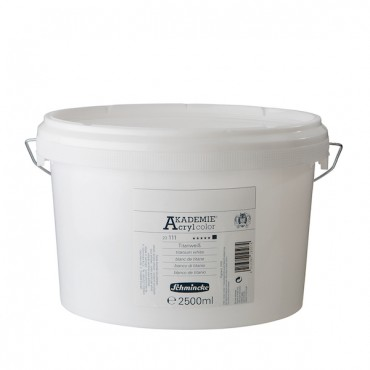 Akrüülvärv AKADEMIE 2,5 l - Titanium white