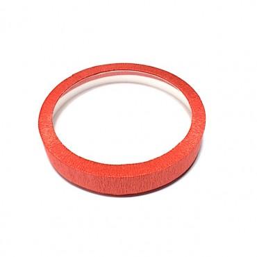 Karp RING Ø 20,5 x 3,5 cm - Punane