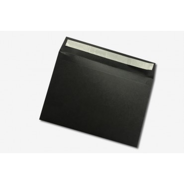 Ümbrik KSH VÄRVILINE 16,2 x 22,9 cm (C5) 120 g/m² 20 tükki - Must