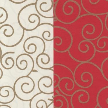 Dekoratiivpaber ARABESK 130 g/m² 21 x 29,7 cm (A4) - ERINEVAD MUSTRID