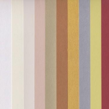 Dekoratiivpaber CURIOUS METALLICS 120 g/m² 21 x 29,7 cm (A4) 10 lehte - ERINEVAD TOONID