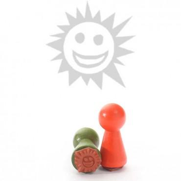 Mustritempel A - Päike (16 mm)